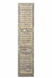RS-41127 Vintage Shutter Panel,Teak wood, 20x2x91 inches