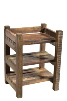 RS-40531 - Vintage Wooden Rack,12x8.5x16 Inches