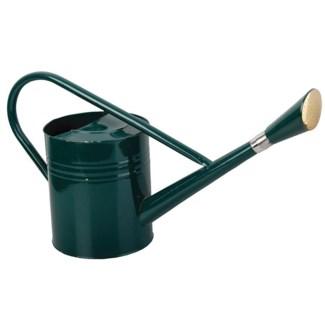 Watering can green 7,5l. Metal. 66,0x20,8x31,7cm. oq/6,mc/6 Pg.92