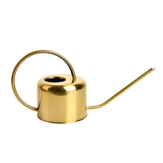 Copper plated watering can - 13.75x5.5x8 inches