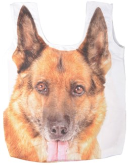 Foldable shopping bag dog L - (15.2x2.4x23.2 inches)
