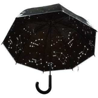 Umbrella transparent stars - 32x32x32.25 inches