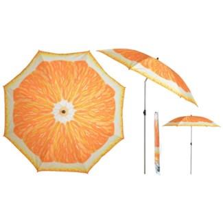 Parasol orange - 72.75x72.75x89.25 inches
