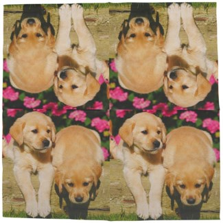 Paper napkins dogs 33x33cm, Tissue paper (3 ply) - 6.5x6.5x2.3
