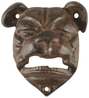 Bottle opener bulldog - (3.3x1.4x3.6 inches)