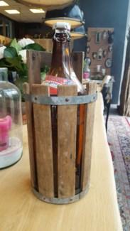 Antique Swedish Beerbottel, From Sweden 1870 50% off original price of $60