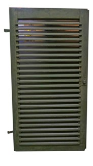 Antique French Green Shutter, From France 1870 On Sale 25% off