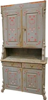 Antique French Antique Dresser, From France 1870 On Sale 30% off
