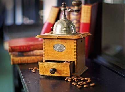 Antique Dutch Coffee Grinder -  Holland, 1880 - *size and design may vary*