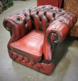 Antique English Chesterfield - England, 1890