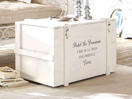Provence Chest, Antique White, 35x22x22in.
