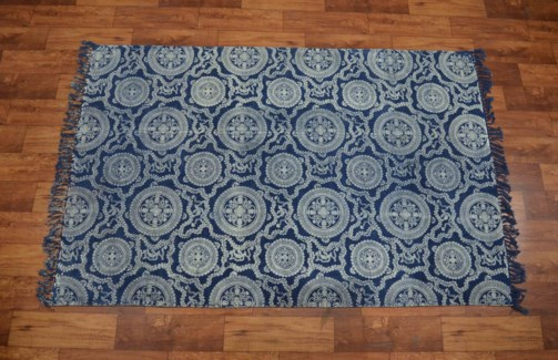 Roxy Cotton Rug 3.9ftx5.9ft Large 47.25x70.86inch. - On Sale 25 percent off original 84