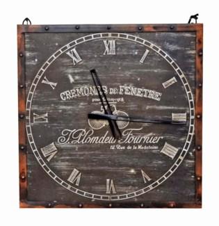 Steampunk Clock, 19x1x19 inches