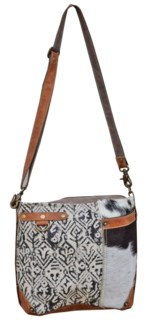 Charlene Cow Hide Shoulder Bag 10x11