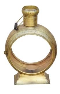 Kelly Lantern A, Ant. Bronze 14x13x22in