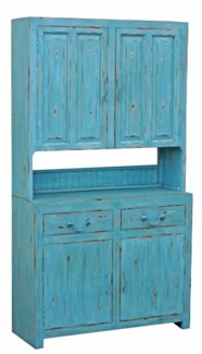 Kitchen Cabinet, Blue, 43x16x79 inches On sale 25 percent off