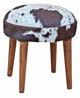 Billy Round Stool, 17x17x18 inches