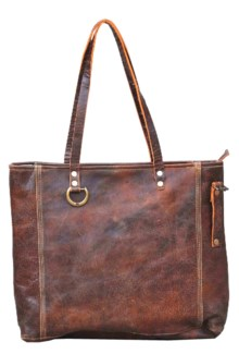 Clarke Handbag Shopper Brown Leather16.53x14.2