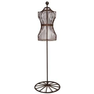 Wire mannequin. Metal. 33,0x50,0x159,0cm. oq/1,mc/1 Pg.72