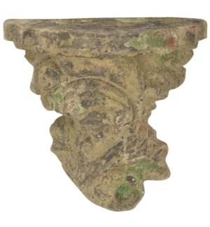 AC wall pedestal moss