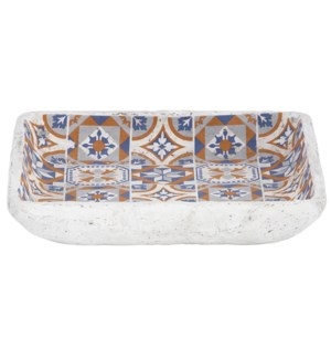 Portuguese tiles birdbath