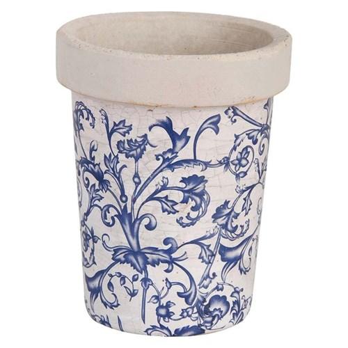 Aged ceramic long toms. Cerami