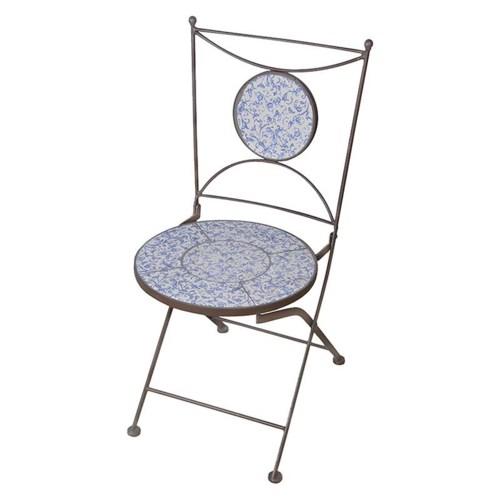 """""""Aged ceramic chair. Ceramics,"""""""