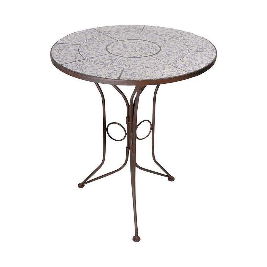 """""""Aged ceramic table. Ceramics,"""""""