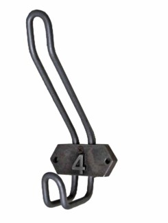 Duff Hook 8 in, Cast Iron, Gun Metal