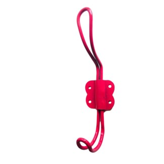 Arran Iron Wire Hook 5.5 in, Pink