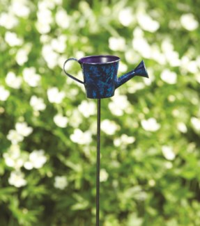 28   Blue Watering Can Garden Stake 5x2.5x28 inch. Pg.37 - On Sale 50 percent off original price 9