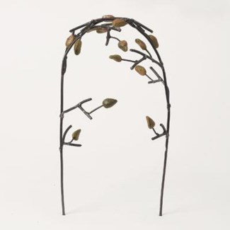 Miniature Terra Cotta/Wire Arbor with Leaves 6x5x11 inch. Pg.60 - On Sale 50 percent off original pr