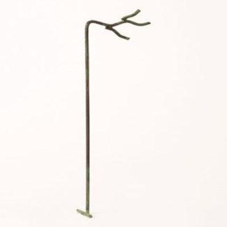 Miniature Verdigris Wire Twig Stake 2.25x1x10 inch. Pg.63 - On Sale 50 percent off original price 1.
