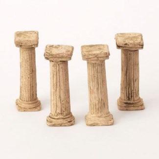 Miniature Clay Ruins Columns, 4.5inch. FD 6.30 - On Sale 50 percent off original price 18
