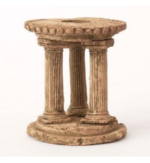 Mini Clay Ruins Circle Column