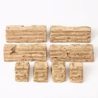 Miniature Clay Ruins Straight Steps, 4.5 x 2.5 x 1/1.25 x 2.5 x 1inch. FD 6.30 - On Sale 50 percen