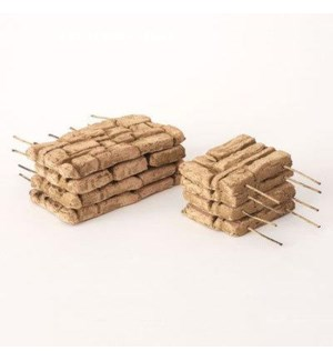 Miniature Clay Ruins Walls, 5 x .5 x 2.5/3 x .5 x 2.5inch. FD 6.30 - On Sale 50 percent off origin