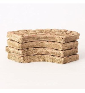 Miniature Clay Ruins Curved Pavers, 5 x 1.5 x .5inch. FD 6.30 - On Sale 50 percent off original pr
