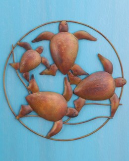 18   Turtle Wall Decor 18D inch. Pg.28 - On Sale 50 percent off original price 46.8