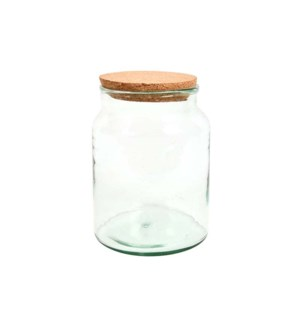Half open terrarium bottle S - (8.1x8.1x10.6 inch)