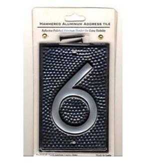 #6 tile w. hammered OS