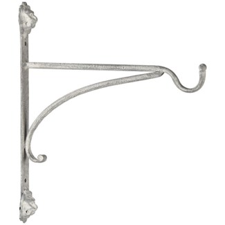 AM lion hanging basket hook - 2x10.5x12.5 inches