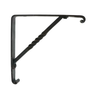 Forged Corner Hook Bracket  Iron. 6x6inch.