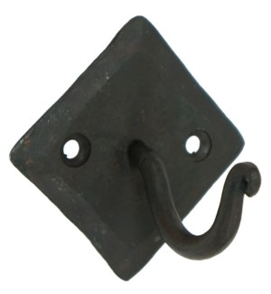 Forged Square  Plate Wall Hook