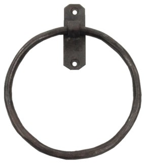 Classic Towel Ring Iron 5.5x1x7inch.