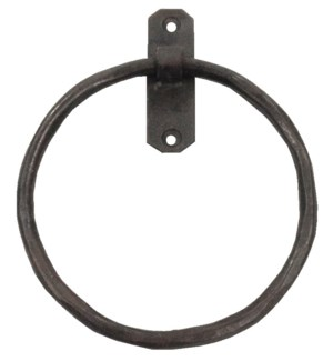 Classic Towel Ring  Iron