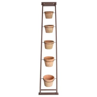 AT plant ladder with 5 pots