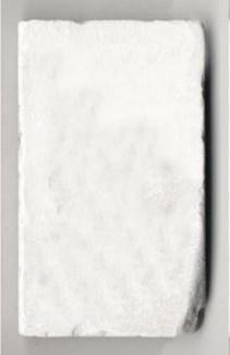 blank 1/2 endcap, bianca