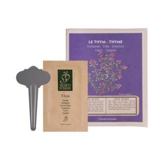 """""""Seed packet Thyme. Seeds, met"""""""