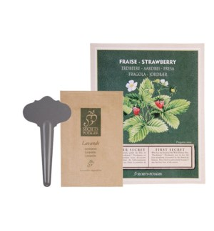 Seed packet Strawberry. Seeds